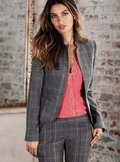 33 Work Fashion To Rock This Season Fashion Stylish Work Outfits, Office Outfits Women, Stylish Outfits, Dress Attire, Work Attire, Work Fashion, Fashion Looks, Fashion Outfits, Womens Fashion