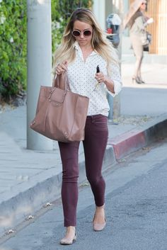 Lauren Conrad Stays True to Her Style with a Neutral Balenciaga Bag - PurseBlog