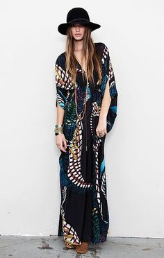 dark boho colors.