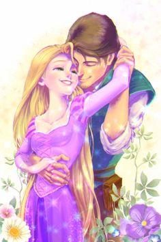 Disney Drawing Rapunzel and Flynn Fan Art! Disney Rapunzel, Rapunzel And Flynn, Film Disney, Disney Princess Art, Princess Rapunzel, Arte Disney, Disney Couples, Disney Fan Art, Disney Magic