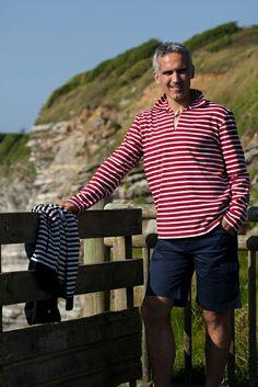 Nautical clothing for men. Moda marinera para hombre. Batela.