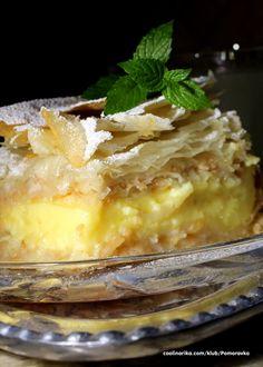 i kremom od vanile — Coolinarika Pita Recipes, Apple Recipes, Sweet Recipes, Baking Recipes, Cake Recipes, Dessert Recipes, Desserts, Pie Cake, No Bake Cake