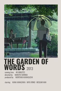 The Garden of Words by Cindy