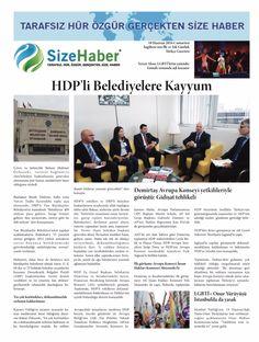 İngiltere'nin İlk ve Tek Günlük Türkçe Gazetesi, Sizehaber Gazete, 18 Haziran 2016, Cumartesi