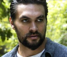 Jason Momoa - that look.. oh goodness ;-)
