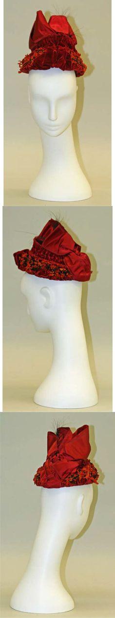 1880s bonnet