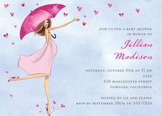 Baby Love Shower Invitation | Zurianas Elegant Occasions
