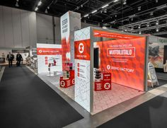10' x 20' Modern LED Modular Backlit Trade Show Exhibit Booth. #expo #marketing #exhibition