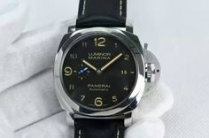 Panerai PAM 359 O V6F 1:1 Best Edition on Black Leather Strap P9010