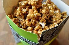 This is my favorite popcorn of all time: Butter Toffee Popcorn. So perfect for the holidays and for gift-giving!