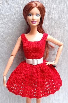 Plain red crochet dress handmade with a lot of fun :) Hope you like it!