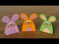 Hasen/rabbits aus Papier - Basteln mit Kindern