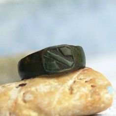 who used to wear this antique ring...  size 8... by CoolVintage, $22.50