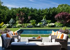 Hamptons House - Contemporary - Pool - New York - interieurs by Francine Gardner
