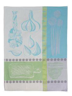 Gousse D'Ail Kitchen Towels by Garner-Thiebaut