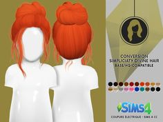 Coupure Electrique: Simpliciaty`s toddlers collection hair retextured part 1  - Sims 4 Hairs - http://sims4hairs.com/coupure-electrique-simpliciatys-toddlers-collection-hair-retextured-part-1/