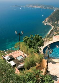Been...The most beautiful hotel in the world. Chateau D'Or...France The magic of Eze!