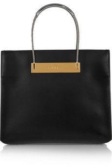 Balenciaga Cable leather tote | NET-A-PORTER
