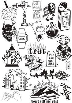 TATTOO OLD school inspirations - Old School Tattoos are perhaps the most versatile. - TATTOO OLD school inspirations – Old School Tattoos are perhaps the most versatile and have proved - Doodle Tattoo, Kritzelei Tattoo, Spider Tattoo, City Tattoo, Snake Tattoo, Tattoo Fonts, Tattoo Quotes, Flash Art Tattoos, Body Art Tattoos