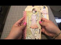 Scrapbook: Prima Doll Tags - YouTube