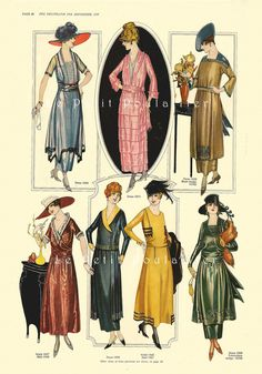 PetitPoulailler 1919 Delineator Magazine (Butterick), 80 | by Le Petit Poulailler / Three French Hens