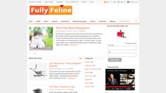 Fully Feline - One of the best designed cat blogs I found. Add this one to the top of your list.