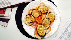 Blings med hummus og squash - Green Bonanza