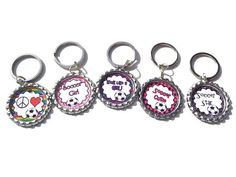 Soccer party favor keychain key chain by BabyandKidsUnlimited, $9.00