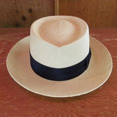 PANAMA HAT THR-03 NATURE (PLAIN RIBBON) BRISA (G4)