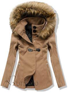 Camel kabát 3372