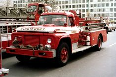 DC, Dictrict of Columbia Fire Department Old Engine - 2