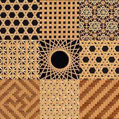 bamboo pattern Joinery, Animal Print Rug, Craftsman, Pattern Design, Modern Design, Bamboo, Surface, Photoshop, Japanese