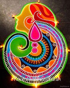 Rangoli design competition woman day by shanthi sridharan Rangoli Designs Latest, Simple Rangoli Border Designs, Beautiful Rangoli Designs, Indian Rangoli Designs, Rangoli Designs Flower, Free Hand Rangoli Design, Rangoli Patterns, Colorful Rangoli Designs, Rangoli Ideas