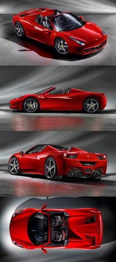The 458 Spider is the first car ever to combine a mid-rear engine with a retractable folding hard top
