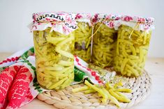 Pasta Salad, Pickles, Macaroni And Cheese, Cabbage, Vegetables, Ethnic Recipes, Food, Green, Canning