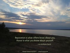 Honor yourself.