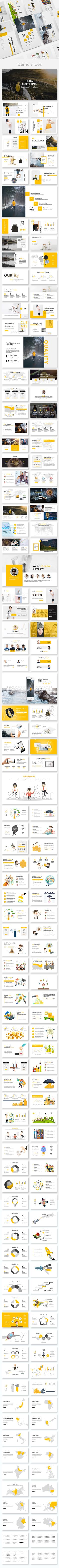Digital Marketing - Business Powerpoint Template