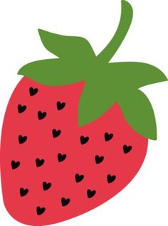 strawberry clip art clip art food clipart pinterest clip rh pinterest com strawberries clip art border strawberries clipart black and white