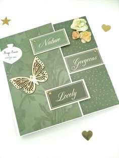 Album Photo Scrapbooking, Theme Nature, Main Theme, Creations, Etsy, Handmade, Quirky Gifts
