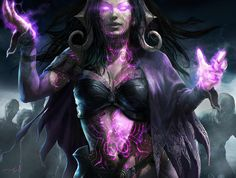 Liliana's Origin: The Fourth Pact Liliana Vess by Aleksi--Briclot on DeviantArt