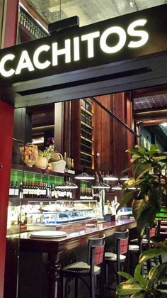 One of our favorite TAPAS restaurant in Barcelona. Either for a party inside the trendy decoration or on the vibrant terrace, Barcelona - Spain