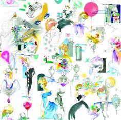 Princess Diana wallpaper from Kensington Palace