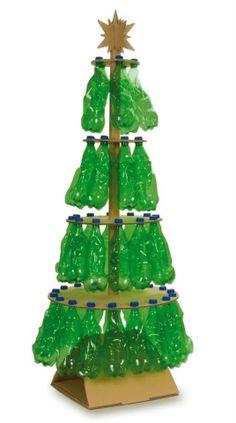 Árvore de Natal muito sustentável