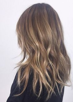 Blorange bronde hair color with hints of lighter blonde hairstyle 2017