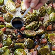 Balsamic-Roasted Brussels Sprouts - Barefoot Contessa