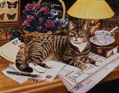 """""""Montgomery"""" Workaday Cats / Geoffrey Tristram"""