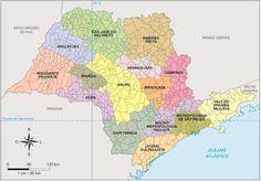 São Paulo - Conheça seu Estado (História e Geografia): 11 - As regiões do estado de São Paulo