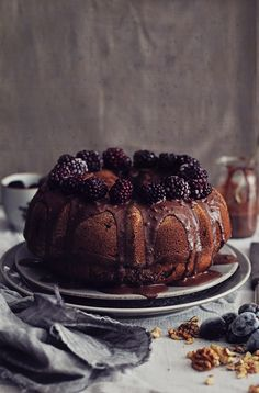 Chocolate-Walnut-Bundt-Cake