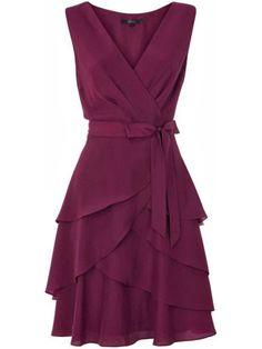 V-neck Draping Sash Chiffon Short Homecoming Dress Ladies Day Dresses, Fall Dresses, Evening Dresses, Short Dresses, Summer Bridesmaid Dresses, Bridesmaids, Purple Dress, Burgendy Dress, Occasion Dresses