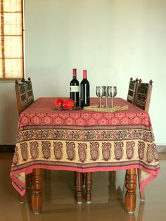 great websight, bedding, curtains etc. http://www.saffronmarigold.com/catalog/product_info.php?cPath=43_29_id=460 India Rose ~ Banquet Pink Floral Indian Rectangle Tablecloth